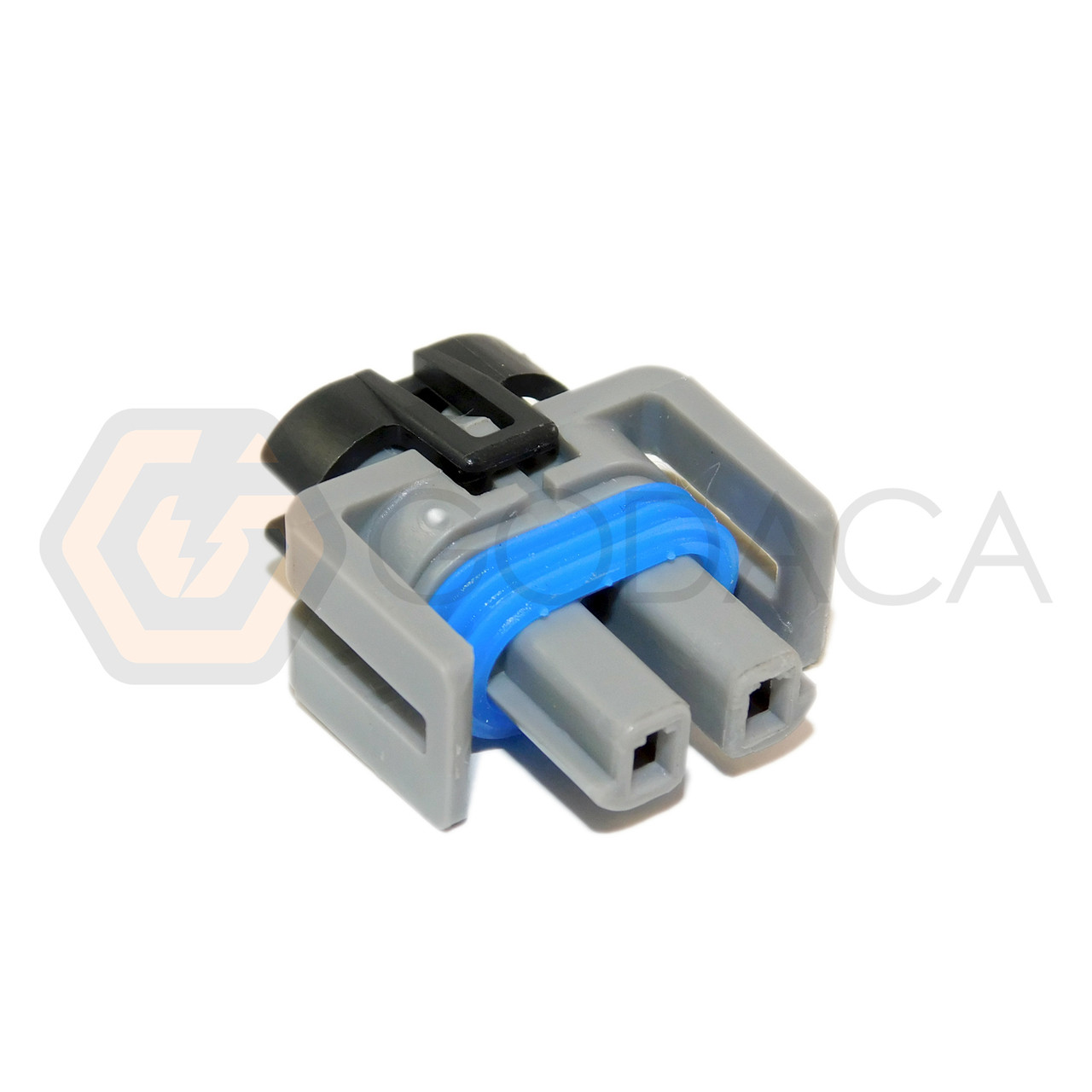 1x Connector 2-way 2 pin for Ford A//C Compressor WPT-1052 w//out wire