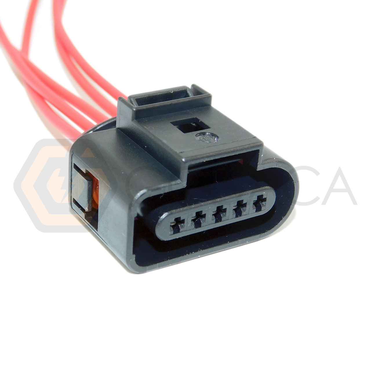 1x Connector 5 pin 5-way for Air Flow Meter 4H0 973 715