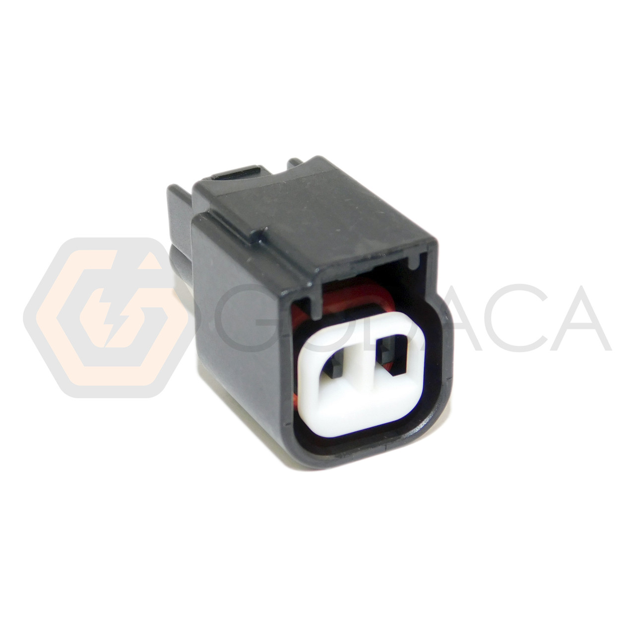 1x Connector 2-way 2 pin for Ford A/C Compressor WPT-1052 w/out wire