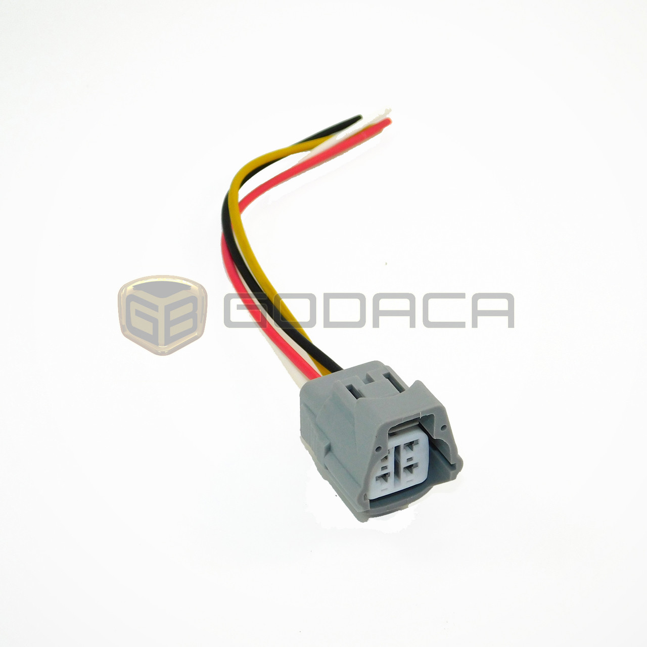 1 x connector 4-way toyota 2jz a/c 4p connector pigtail wiring harness  sensor - godaca, llc