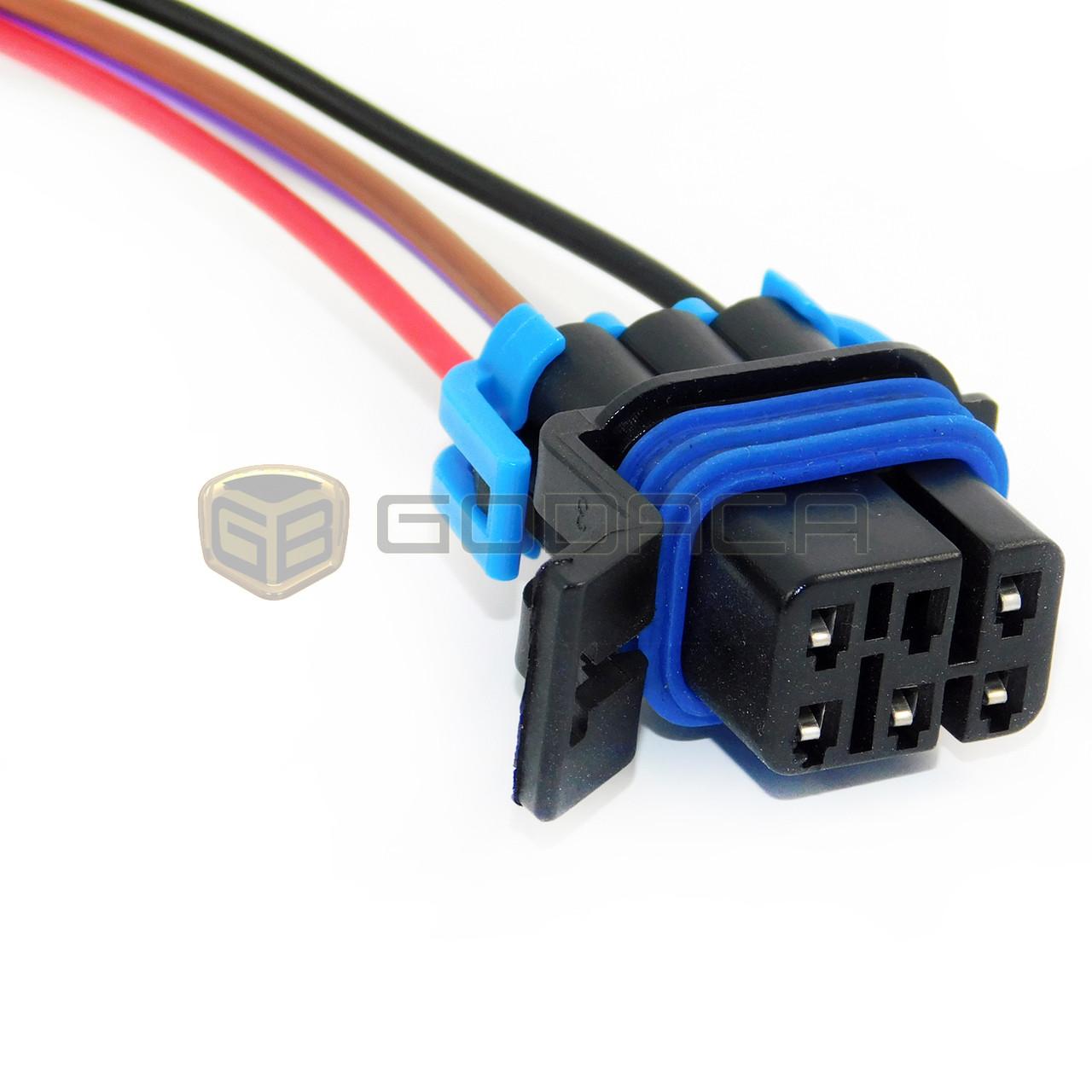 connector fuel pump sensor harness pigtail fpw4-gmc buick pontiac chevrolet  - godaca, llc