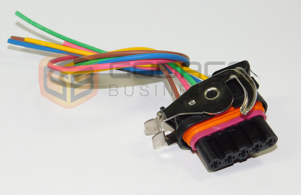 1x Connector Alternator Repair Plug Harness 5-way 5pin bosch style
