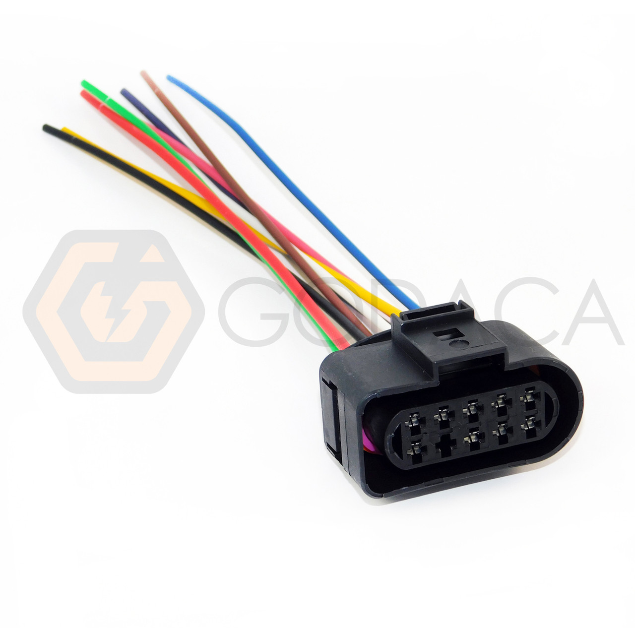 Fit for VW AUDI Skoda Seat H11 Fog Light 2 PIN Connector Plug Pigtail 3D0941165A