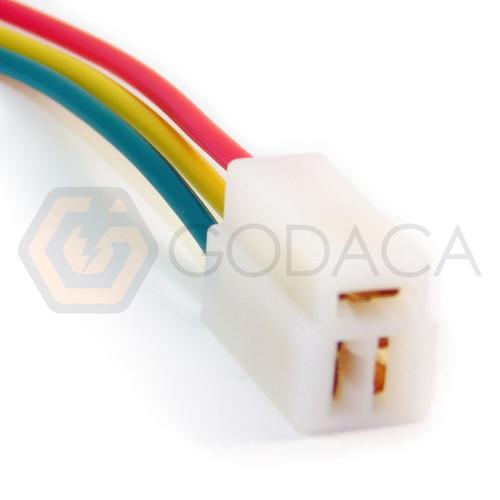 1x Connector Alternator Plug Repair Harness 3-way 3pin socket Female Terminal