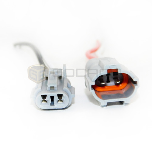 1 X set Connectors 2-way harness wiring lights socket male female Universal