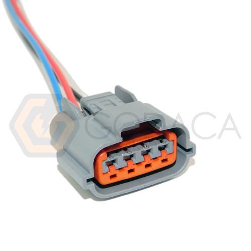 1x Connector 4-way 4 pin for Alternator Nissan 23100-9Y500
