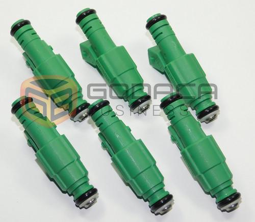 6x for 42lb EV1 Fuel Injectors Fit Chevrolet Pontiac Ford TBI LT1 LS1 LS6 440cc