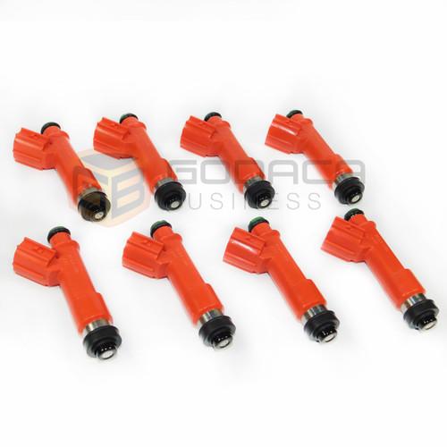 8x 850cc Fuel Injector 1001-87F90 for Toyota Supra Turbo 1JZGTE 2JZGTE 63572