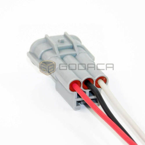 1x Male Connector Pigtail For Toyota Gm Alternator 3 Pin