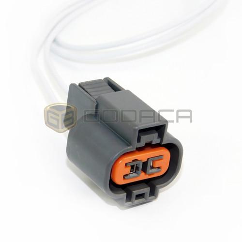 1x Connector 2-way 2 Pin for Mitsubishi Knock Sensor MR578117