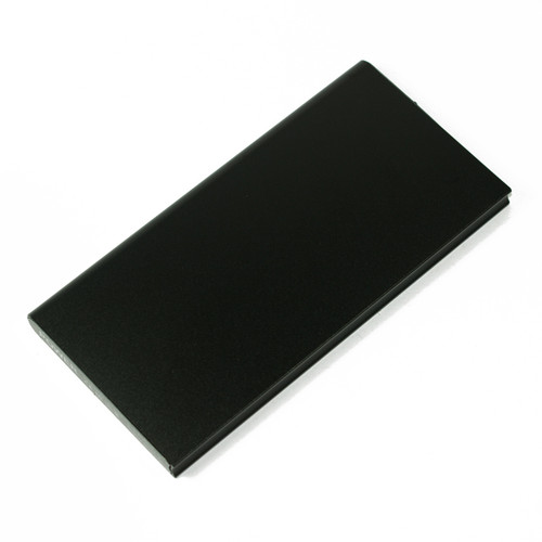 Ultra Thin Power Bank Battery Charger 10000 mah for Cell Phone Black