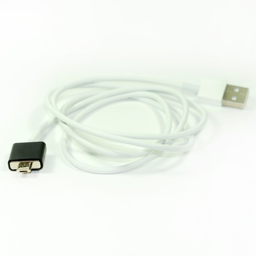 1x Magnetic Usb Cable Elegant Metal Black Color for Micro Usb