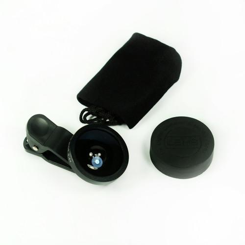 Black 0.4x Fisheye Eye Lens Detachable Clip Camera For Cell Phone