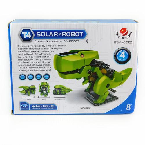 DIY 4 In 1 Kit Solar Power Robot Puzzling Transforming Educational Toys