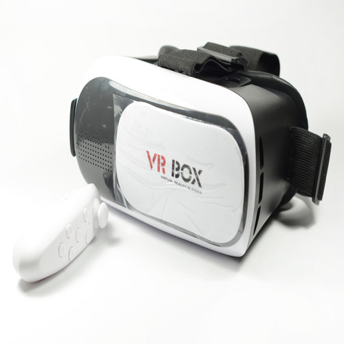2nd Generation VR Box Virtual Reality 3D Glasses Bluetooth Control