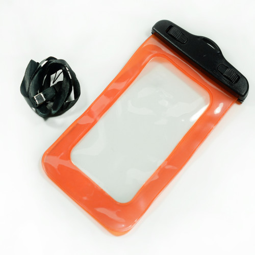 Orange Universal Waterproof Case for Iphone Android Phones