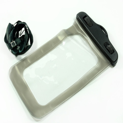 Gray Universal Waterproof Case for Iphone Android Phones