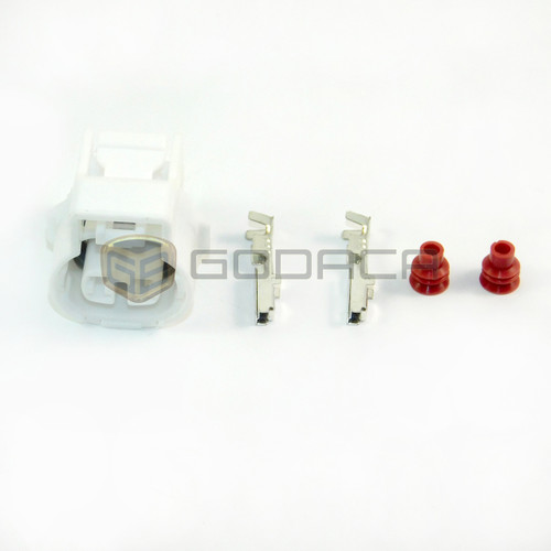 1x2 Pin Connector For Toyota Transfer Back up Lights 90980-11250 w/out wire