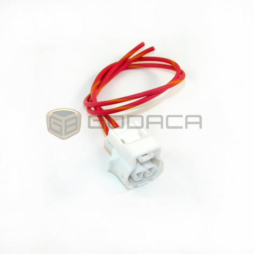 1x2 Pin Connector For Toyota Transfer Back up Lights 90980-11250