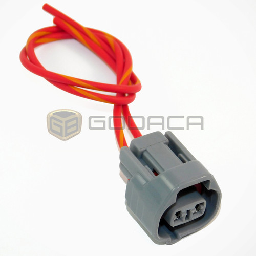 1x Connector 2-way for Toyota Clearance Lamp 90980-11156
