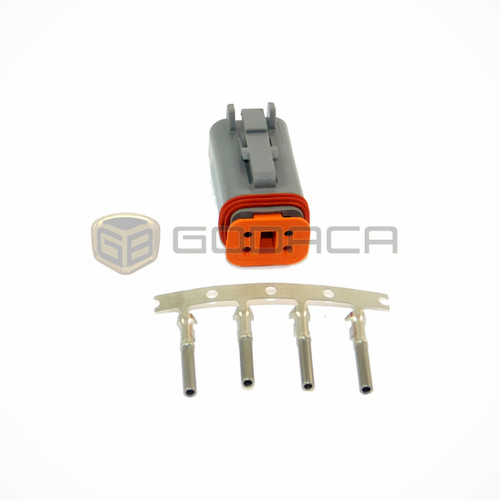 1x 4 Pin 4-way Connector DT Deutsch DT06-4S AT06-4S w/out wire
