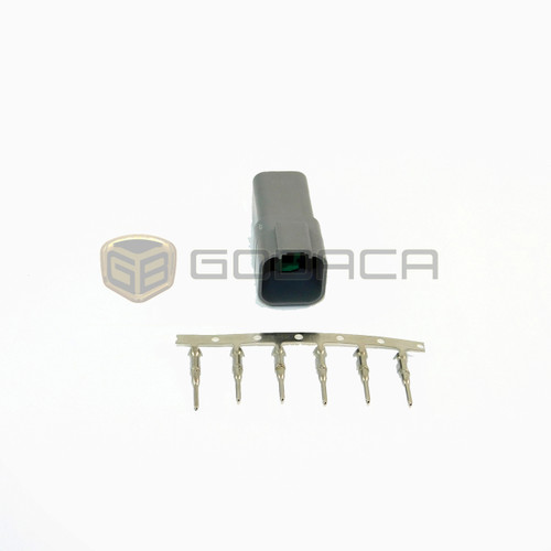 1x 6 Pin 6-way Connector DT Deutsch DT04-6 w/out wire