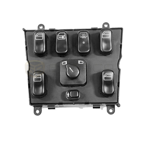 1 X Power Window Switch Control Mercedes Ml Class Black Benz Ml320 1638206610