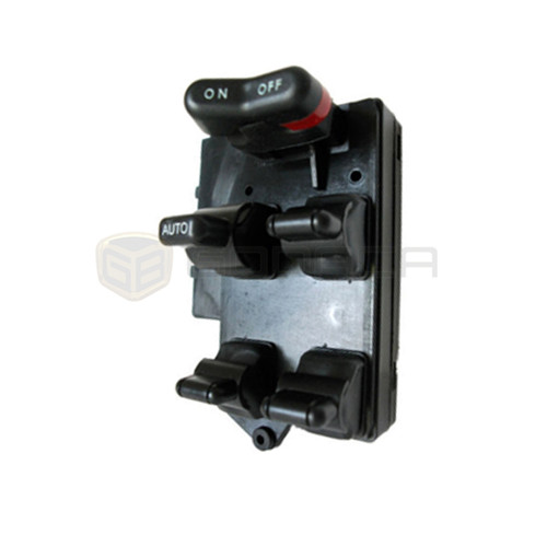 1x Black Electric Power Window Master Switch for Honda Accord 90-97 35750SV1A01