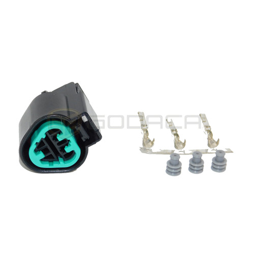 1x Connector 3-way Female for CPS Mitsubishi Sensor MN158261 w/out wire