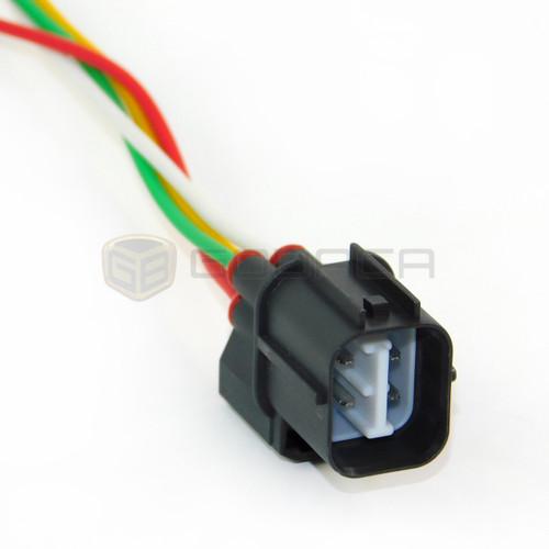 1x Male Connector 4-way for Honda Oxygen Sensor 234-9040