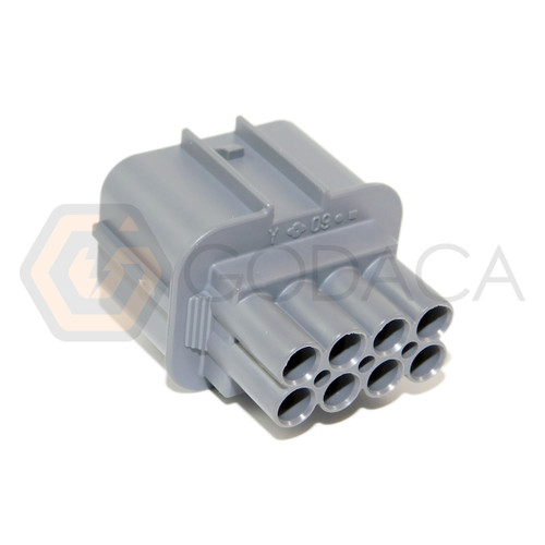 1x Connector Male 8-way for Honda Acura Distributor Sensor OBD1 w