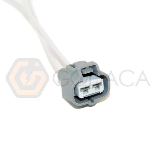 1x Connector 2-way For Toyota Headlamp 90980-11410