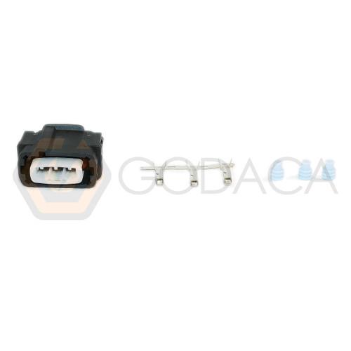 1x Connector 3-way for Hyundai Rail Pressure sensor 03AHC-B-1B-K w/out wire