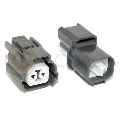 1x Connector 2-way 2 pin for ABS Speed Sensor GM PT1697