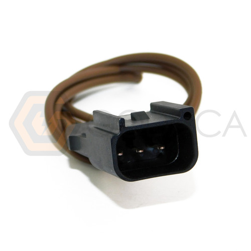 1x Male Connector 3-way 3 pin for Ford WPT-1205