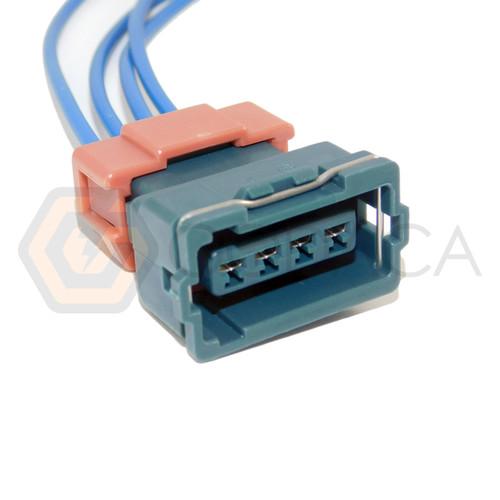 1x Connector 4-way 4 pin for Distributor Mitsubishi MD314946