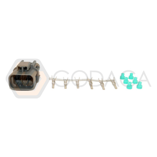 1x Male Connector 6-way 6 pin for TPS SERA484-23 w/out wire