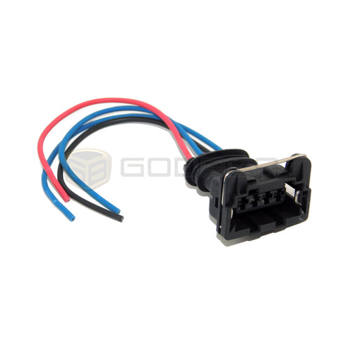 1 x Connector 4-way sensor Distributor Fuel Injector connector harness Plug