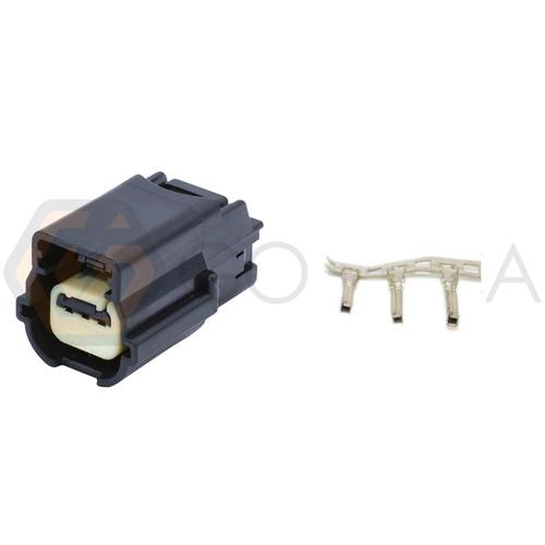 1x Connector 3-way for Crankshaft Position Sensor PT2106 w/out wire