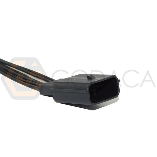 1x Male Connector 6-way for Accelerator Pedal sensor Ford WPT-929