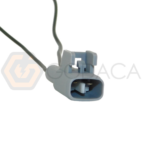 1x Male Connector 2-way for Transfer Back-up Lights 90980-11250