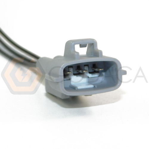 1x Male Connector 3-way for Turn Light 90980-11607