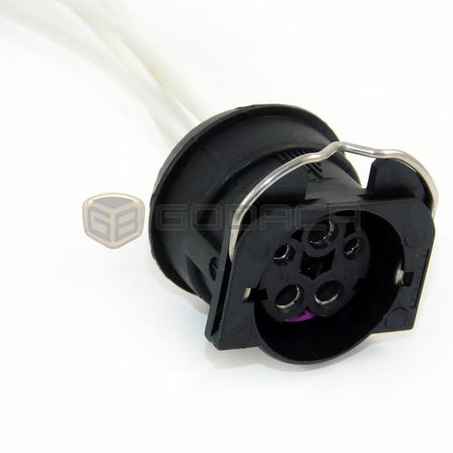 1 x Connector Socket Plug Pigtail Headlight for Audi ,Seat Skoda 5-way