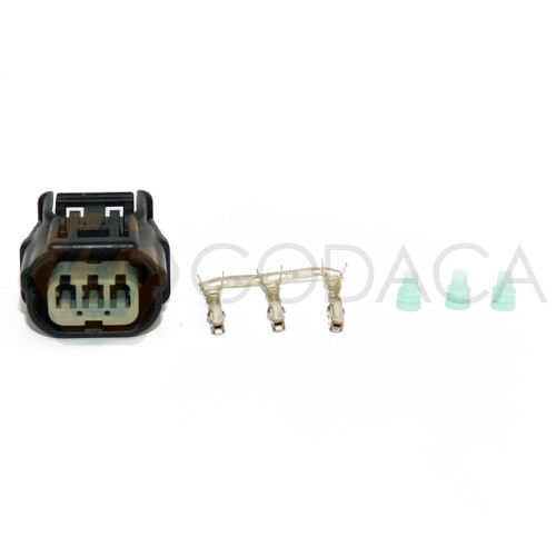 1 x Connector 3-way for Ignition Coil Honda Acura CM11-213 w/out wire