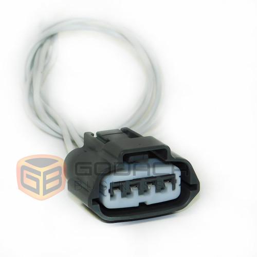 1x Connector 4-way for Mass Air Flow Sensor 01020101000556