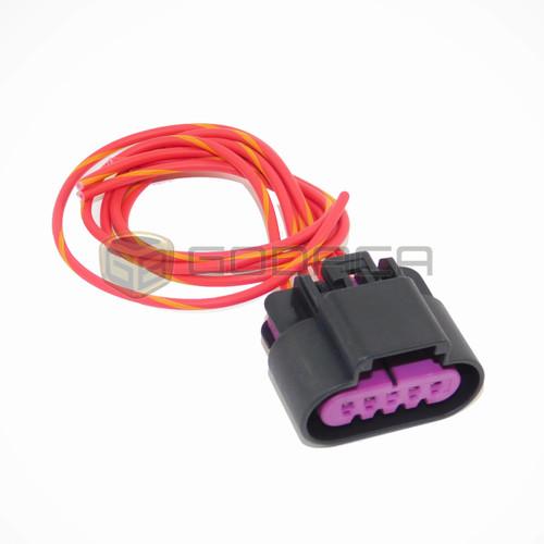 1x Connector 5-way 5 pin for Mass Air Flow Sensor PT2785