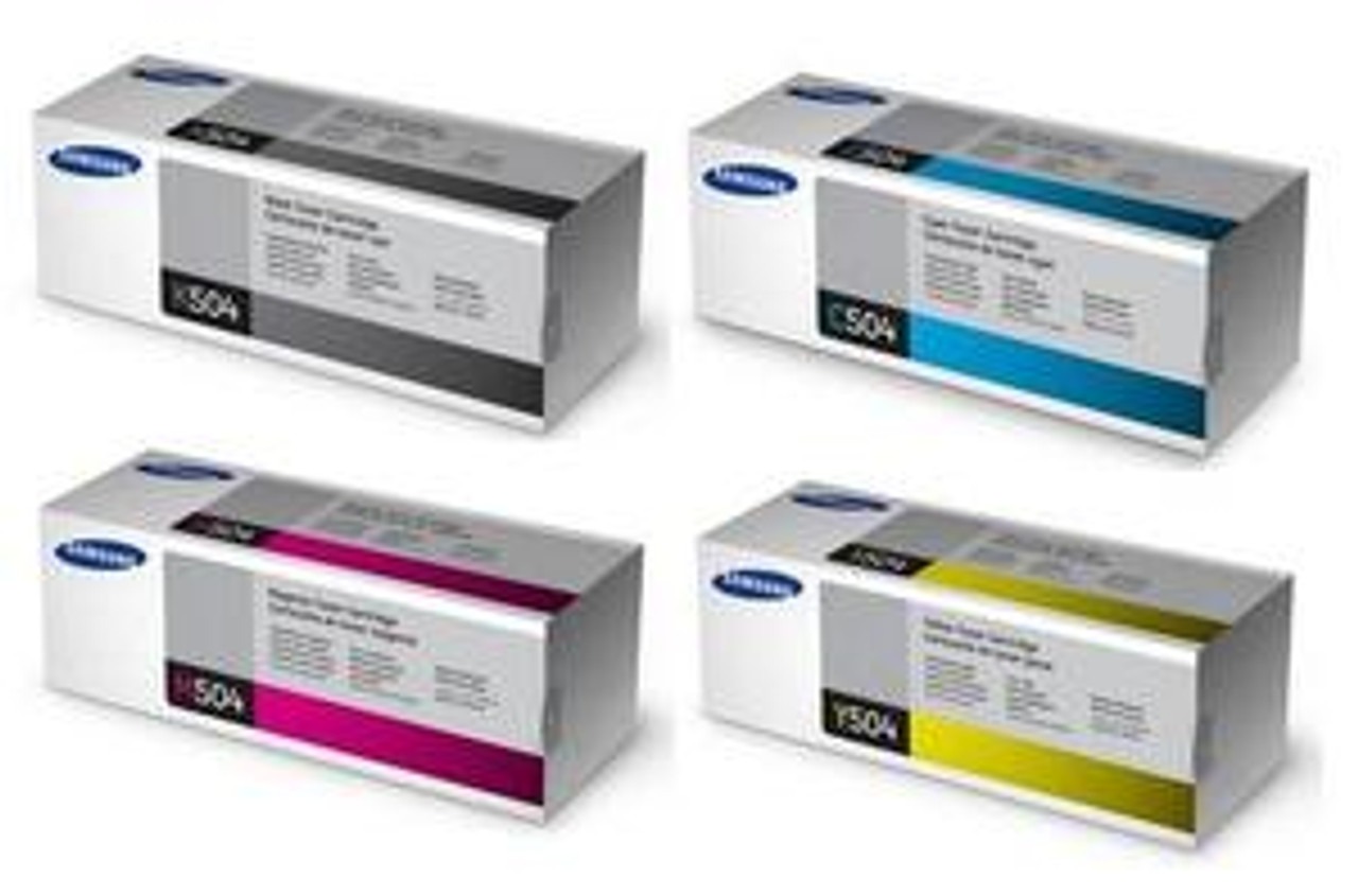 Samsung 504 Original Toner Cartridge Multipack  (Samsung Clt-k504s/c504s/m504s/y504s)