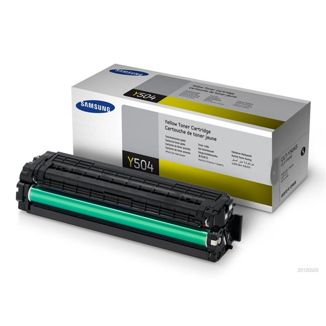 Samsung C504 Yellow Original Toner Cartridge (Clt-y504s/els)