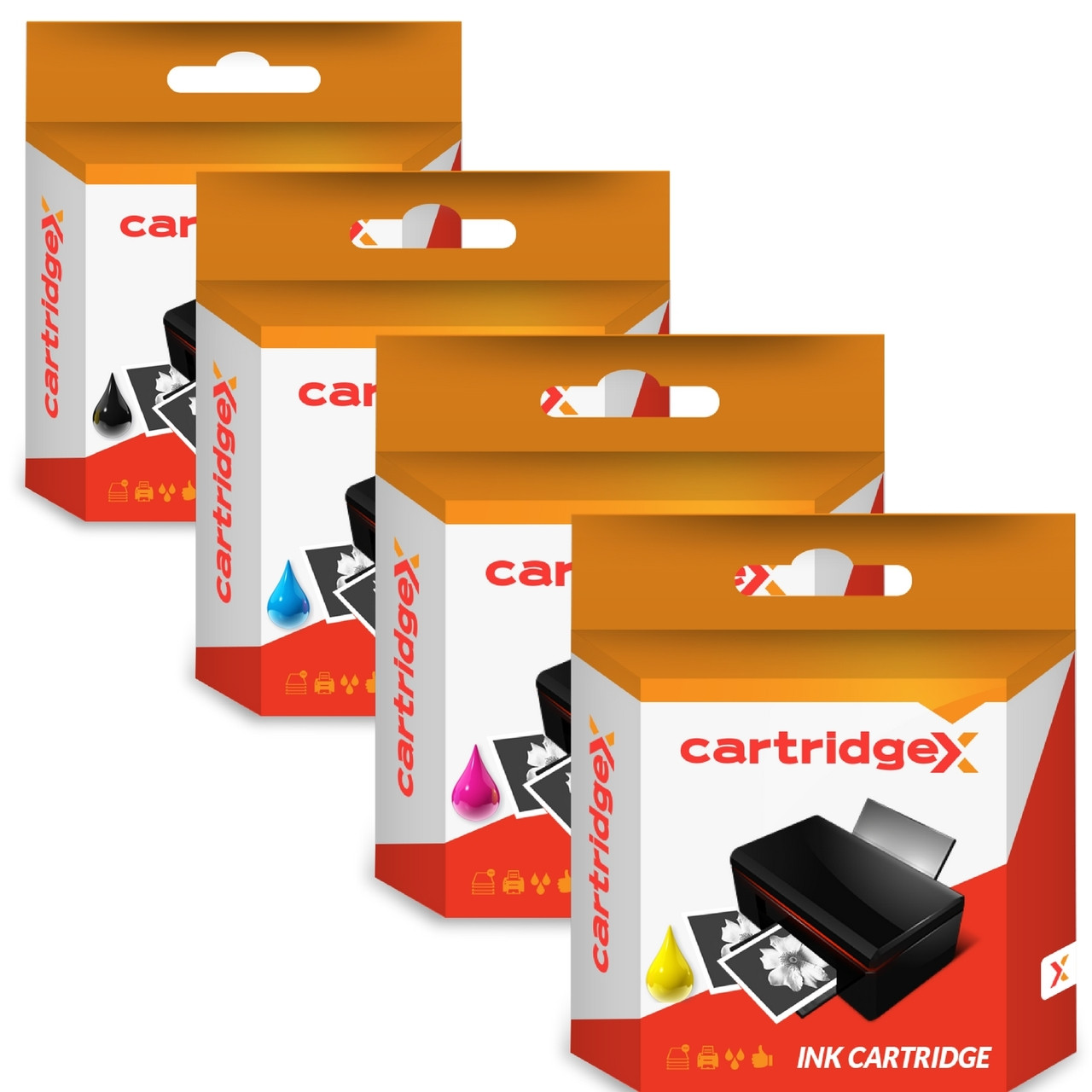 Compatible 4 Colour High Capacity Epson 29xl Ink Cartridge Multipack (T2996 C13t29964010)