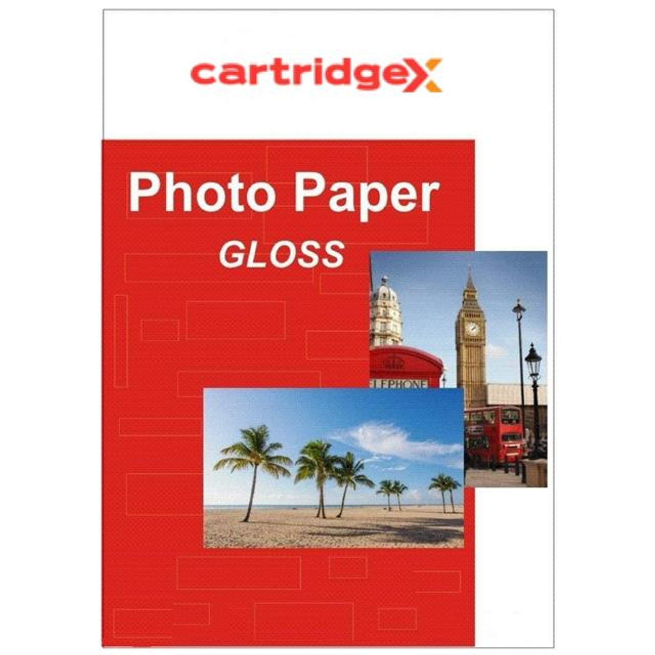 100 Sheets 7x5 Gloss 260gsm High Quality Photo Paper For Inkjet Printer